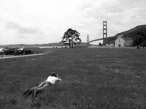 Kyle at Golden Gate