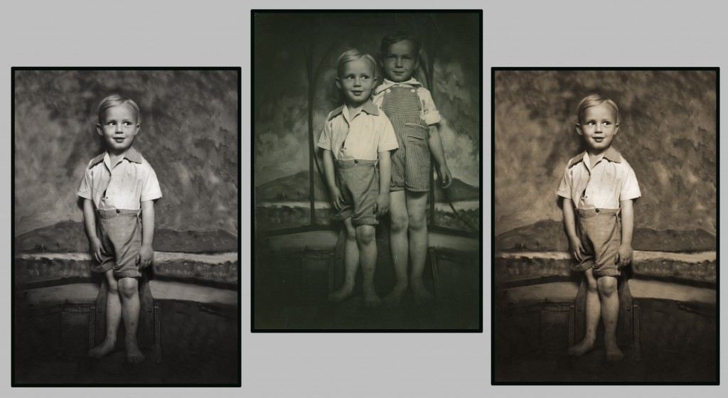 Black And White Prints From Color Negatives